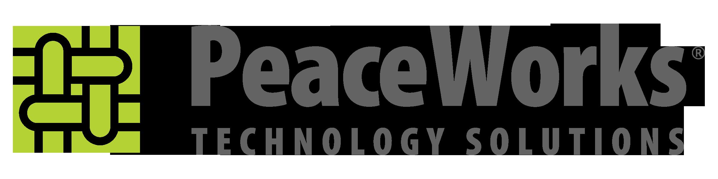 PeaceWorks logo